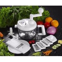 Picador Cortador De Legumes Triturador Manual Alho, Cebola