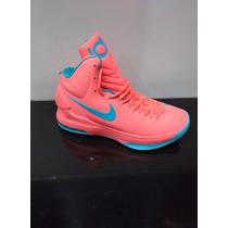 Zapatos Botas Kevin Durant V 5 Para Damas Y Caballeros