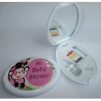 Costurero Espejo Bolsillo Personalizado 15 Años, Baby Shower