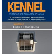 Caixa Transporte N4 Kennel Avião Cão Cães Cachorro Gato