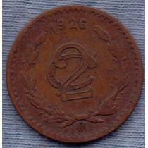 Mexico 2 Centavos 1926 *aguila *