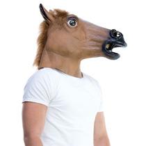 Máscara Cabeza Caballo Tipo Harlem Shake Creepy Horse Mask