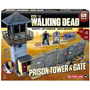 Mcfarlane The Walking Dead Prison Tower & Gate Building Set
