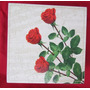Caixa Mdf Rosas Vermelhas Porta Joias Trecos