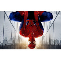 Painel Decorativo Festa Homem Aranha Spider 1x1,5m - (ho01)