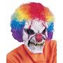 Mascara De Payaso Diabólico De Latex Halloween