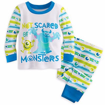 Monsters, Inc. Pijama Para Bebe Talla 6-9 M 9-12 M