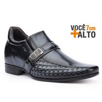 Sapato Social Masculino Rafarillo Alth Você 7cm + Alto