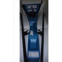 Puegeot 504 Consola Azul Cambios,freno De Mano,zocal Alfmb