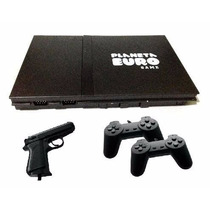 Video Game Polystation 2 Controles + Brindes + Frete Grátis
