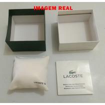 Caixa Original Para Relógio Lacoste - Nova - Completa