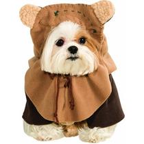 Disfraz Traje De Mascotas Ewok Star Wars De Los Hombres
