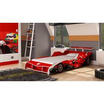 Cama Carro Solteiro F1 Para Meninos - Gelius - Compre Móveis