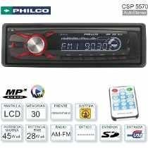 Auto Stereo Philco Csp5750bt 45w Usb+aux C Remoto