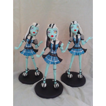 Monster High Adorno Para Torta En Porcelana Fria