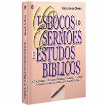 Esboços De Sermões E Estudos Bíblicos - Cpad - Frete Grátis