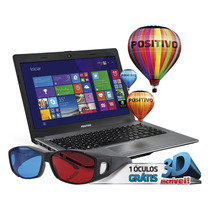 Notebook Stilo Xr2995 Celeron 2gb 500gb Tela 14 Positivo
