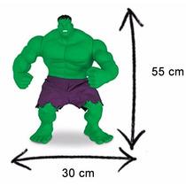 Hulk Marvel Verde 55cm Articulado Gigante Promoção-original