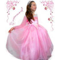 Disfraz Princesa Aurora Set Completo Bella Durmiente