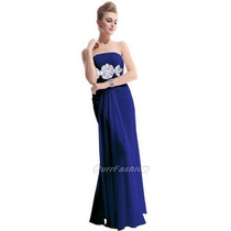 Vestido Feminino Festa Formatura Casamento Longo Royal