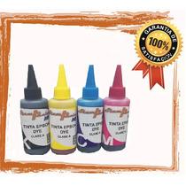 Tinta Dye Para Impresora Epson 80 Ml Los 4 Colores Clase A