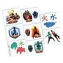 Tattoos Temporales Power Rangers X16