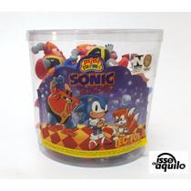 Bonecos Sonic E Turma Balde Tectoy Com 24 Bonecos Pvc Raros