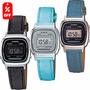 Reloj Dama Casio Retro Vintage La670 Lona- Cfmx