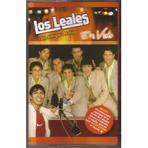 Los Leales De Amigo A Amigo En Vivo Cassette Nuevo Original