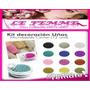 Caviar Micro Esfera De Vidrio Glitter Decoracion Uñas S22