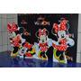 Imperdível! Kit Displays Minnie Vermelha Com 8 Peças!!!