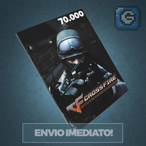 Crossfire Jogo Pc - Cartão De 70.000 Zp Cash - Imbatível