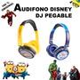 Audifono Minion Avengers Hulk Disney Original Itelsistem