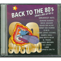Back To The 80- Vol 1 Compilado 13 Maxis Canada Nuevo Stock