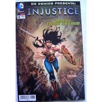 Injustice # 3 Nueva Serie Dc Comics Televisa