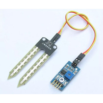 Módulo Sensor De Umidade Do Solo Higrômetro Arduino