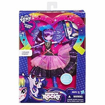 My Little Pony Rarity Equestria Girls Twilight Sparkle Lujo!