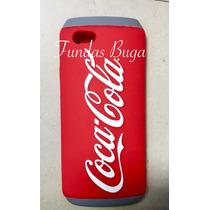 Funda Iphone 5s Se 5c 6 6s Coca Cola Lata Refresco 3d Silico