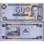 Nicaragua Billete De 50 Cordobas Año 2006 Sin Circular