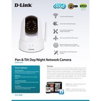 D-link Camaras Ip Dcs-5020l Camara Robotica Cloud Dia Noche