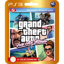 Gta Grand Theft Auto Vice City Stories (código Ps3)