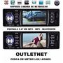 Radio Auto Con Pantalla 3.6 Bluetooth 45wx4 Mp3 Mp5