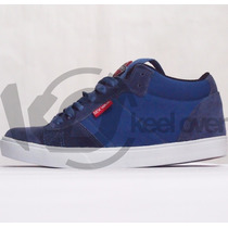 Zapatilla Sex Wax Slayer Azul Skate Unisex Keel Over