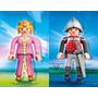 Retromex Playmobil 4895 4896 Caballero Y Princesa Xxl 65cm