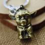 Llavero De Star Wars Con La Figura De Yoda.