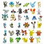 Kit Coleção Pokémon 144 Bonecos Miniaturas Pikachu Charizard