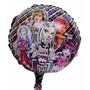 10 Balão Metalizado Monster High 45cm Decoração Gás Hélio Ar