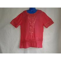 Camisa Bata Modelos Rendada Guipir Gg Feminina + Brinde