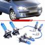 Kit Lâmpadas Super Branca Fiat Idea 2006 2007 2008 2009 2010