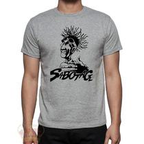 Camisa Camiseta Sabotage Rap Humildade E Respeito Favela.